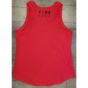 VS PINK Red Muscle Tee
